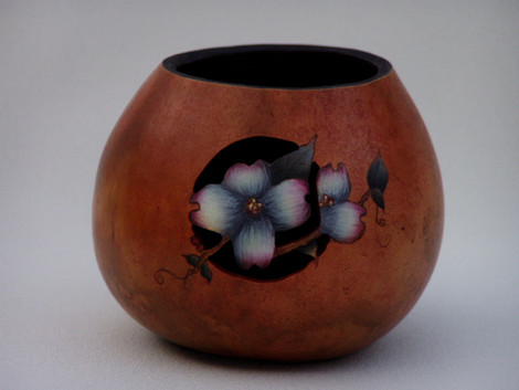 Dogwood Flower in Acrylics