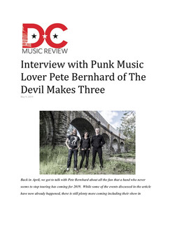 DC Music Review TDM3