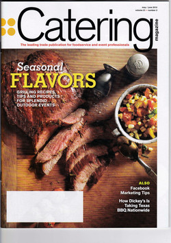 Catering Magazine Cover