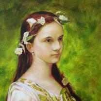 "A study on ""Portrait of Julia Foster Ward"""