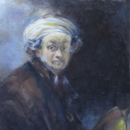 Study on Rembrandt