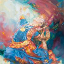 Kuchipudi Dancer I