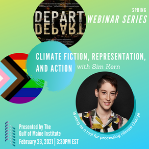 Sim Kern on Climate fiction, Representation, and Action