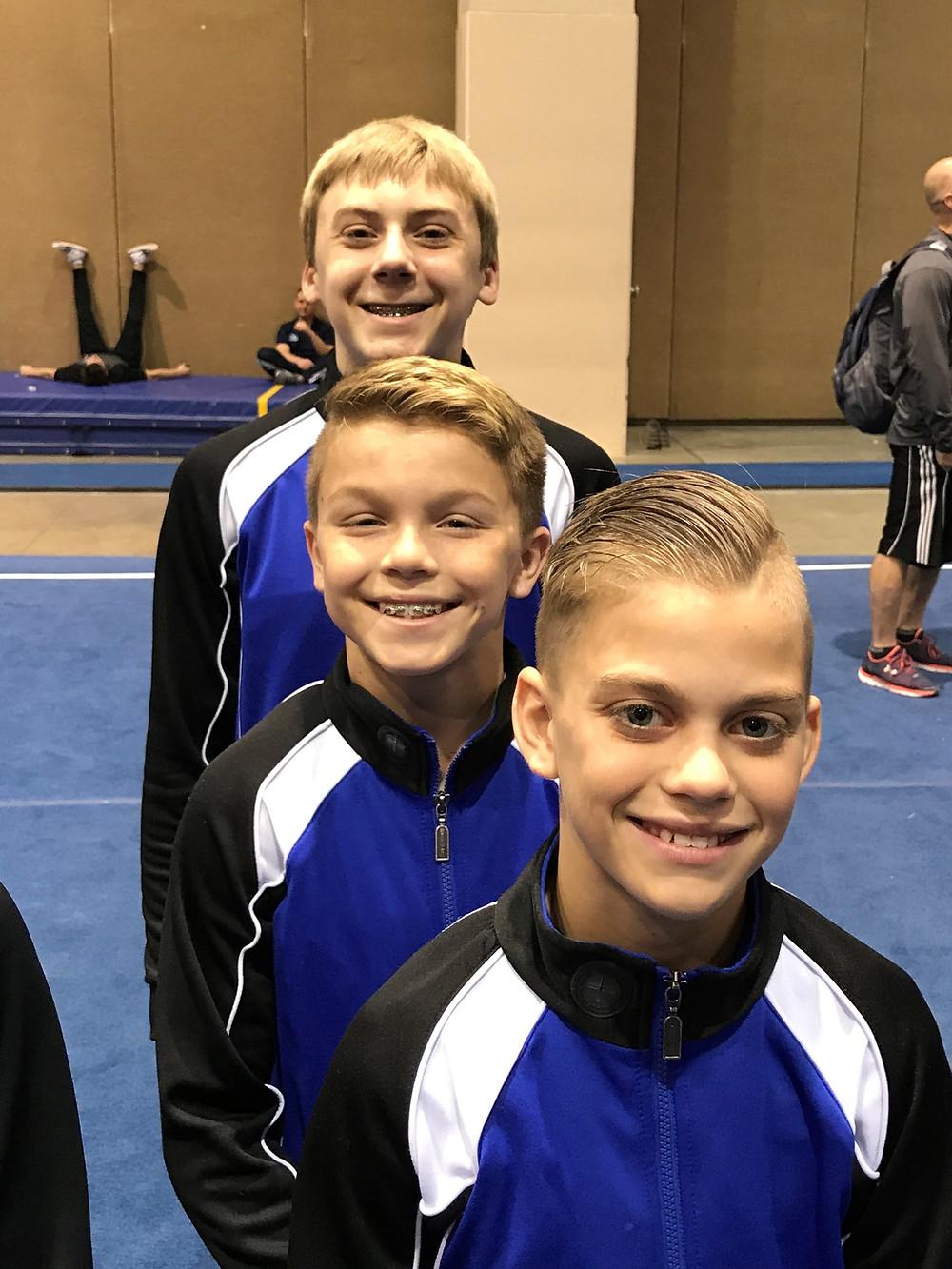 Robby, Tony, Will at Regionals 2017