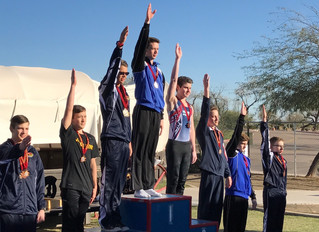 Jacob gets 1st on HB and 3rd AA at Sun Devil Classic!