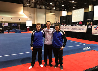 Jacob, David & Preston did great at Regionals! Congratulations!