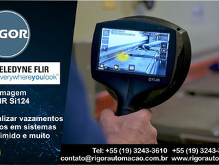 Câmera de Imagem Acústica FLIR Si124