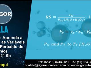 Webinar: Aprenda a Calcular as Variáveis VH2O2 (Peróxido de Hidrogênio)