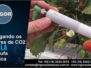 Empregando os Sensores de CO2 Vaisala  em Estufa Científica