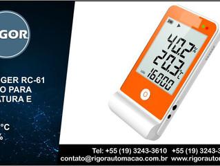 DATALOGGER RC-61 MULTI-USO PARA  TEMPERATURA E UMIDADE -30°C a 70°C       10% a 90%