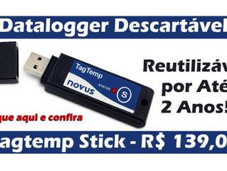 Datalogger Descartável Tagtemp Stick - R$ 139,00