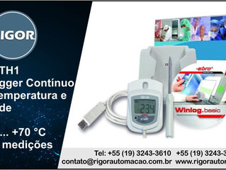 EBI 20Th1- Datalogger Contínuo para Temperatura e Umidade