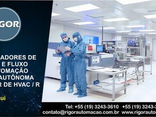 CONTROLADORES DE PRESSÃO E FLUXO PARA AUTOMAÇÃO PREDIAL AUTÔNOMA NO SETOR DE HVAC / R