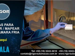 8 ETAPAS PARA VALIDAR / MAPEAR  UMA CÂMARA FRIA