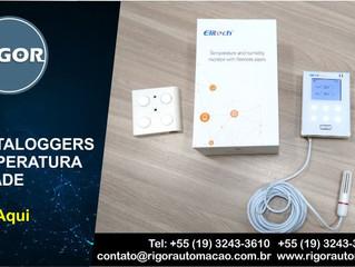 WIFI DATALOGGERS DE TEMPERATURA  E UMIDADE