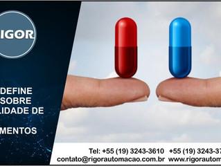 ANVISA DEFINE NORMA SOBRE ESTABILIDADE DE IFAS E MEDICAMENTOS
