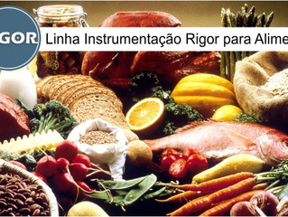 Linha Instrumentação Rigor para Alimentos