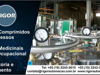 Gases Comprimidos de Processos Gases Medicinais e Uso Ocupacional Consultoria e Treinamento