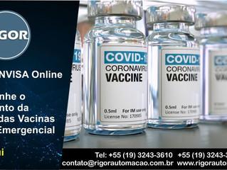 Painel ANVISA - Acompanhe o Andamento da Análise das Vacinas de Uso Emergencial
