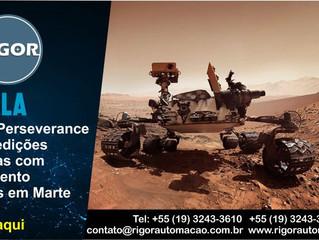 O rover Perseverance inicia medições científicas com equipamento finlandês em Marte