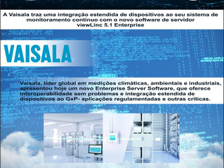 Vaisala Novo Software de Servidor  viewLinc 5.1 Enterprise