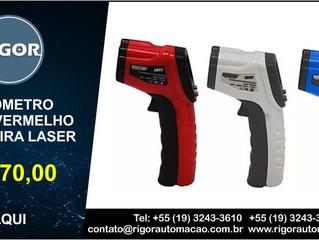 TERMÔMETRO INFRAVERMELHO  COM MIRA LASER R$ 270,00