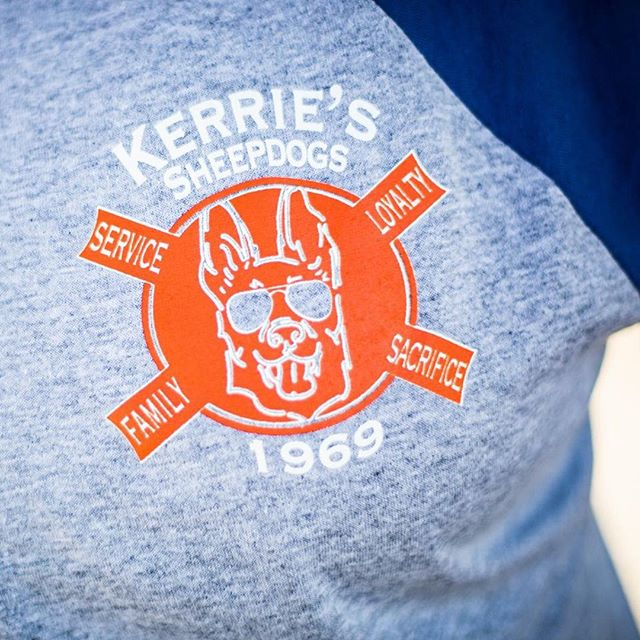 #kerrieon #sheepdog #bluelivesmatter #customdesign