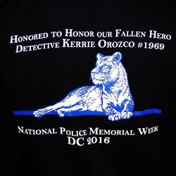 OPD Honor Guard National Police Week