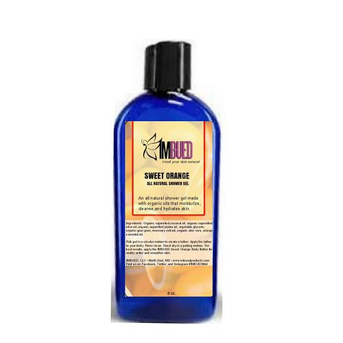 Sweet Orange All Natural Shower Gel