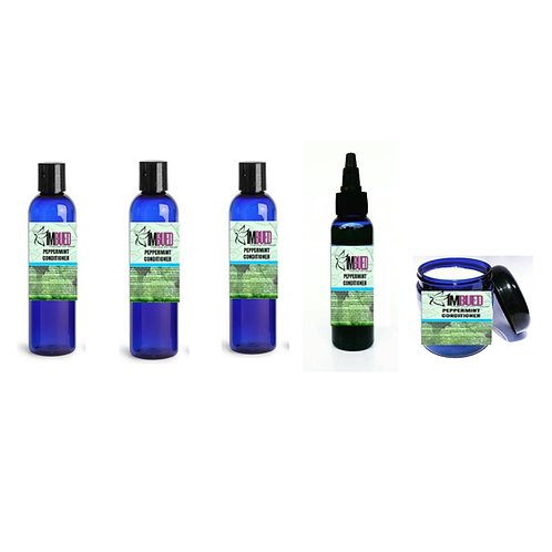 Peppermint Hair Care Collection