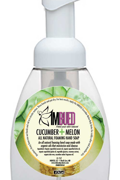 Cucumber Melon All Natural Foaming Hand Soap