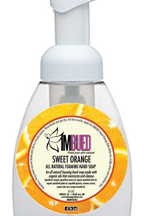 Sweet Orange All Natural Foaming Hand Soap