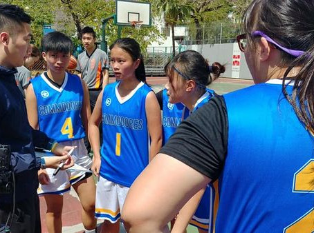 Commodores girls played their first Slamdunk Tournament