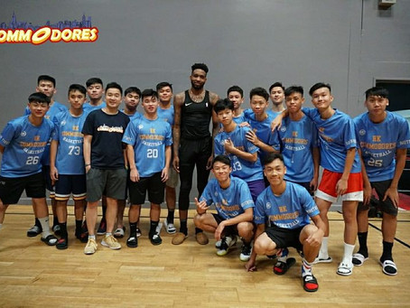 Meeting NBA Player Derrick Jones Jr.