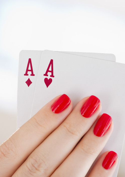 Aces - Hand Modeling by Ashly Covington