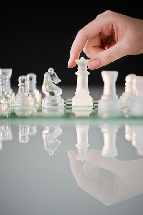 Chess Hand Modeling by Ashly Covington