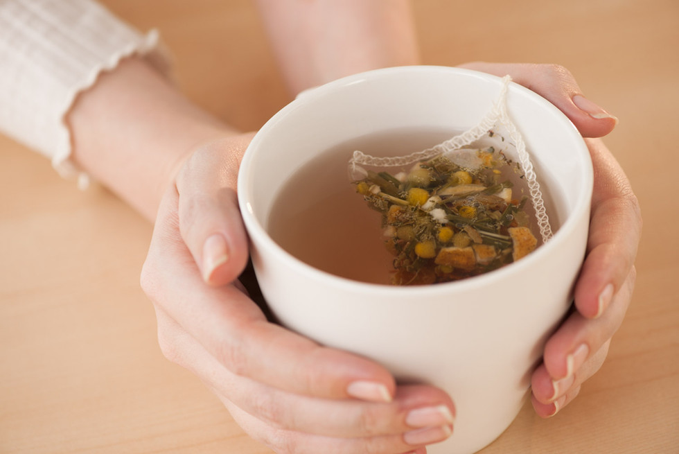Tea - Hand Modeling by Ashly Covington