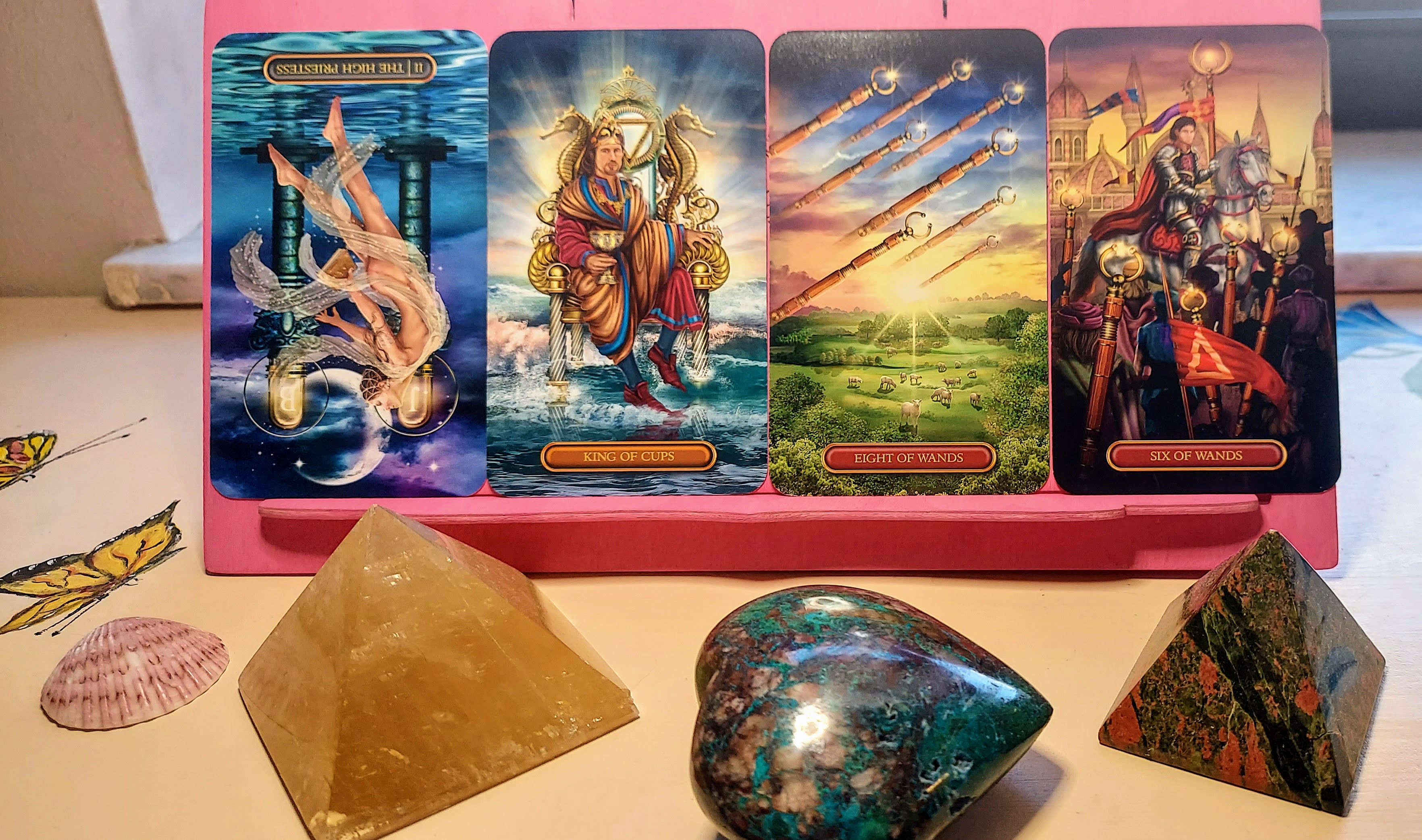 Angel, Tarot or Oracle card reading