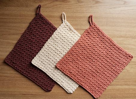 Toalha de chá de crochê (Tea Towel)