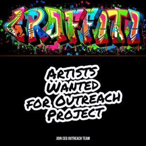 Graffiti And Visual Artists Wanted for CEG Outreach Team
