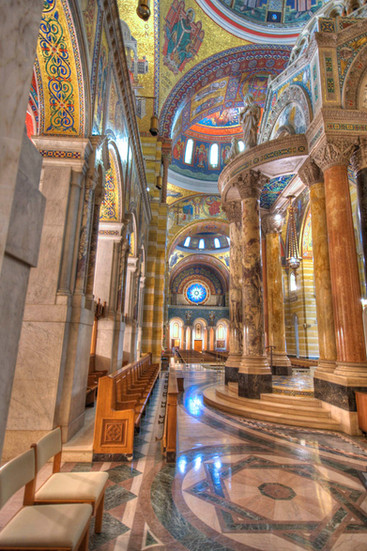 Cathedral Basilica. St. Louis