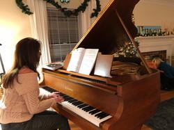 Dec 2017 Piano Party Plymouth