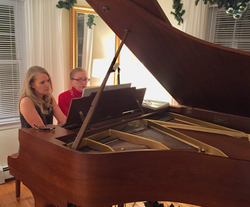 Holidays 2016, Plymouth Party, Piano