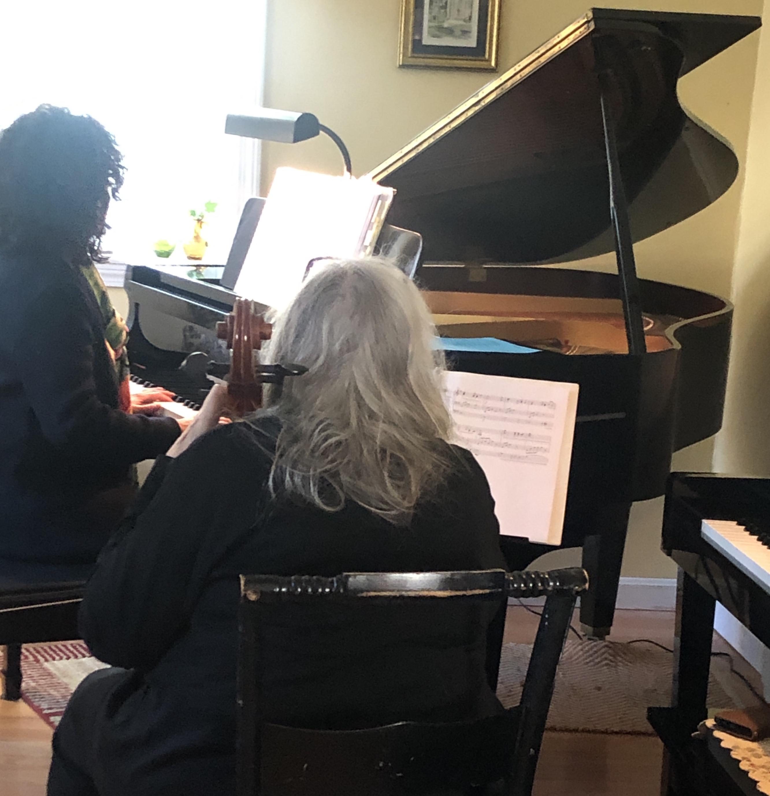 Cello Party Dec 2019 Catherine Marilyn.J