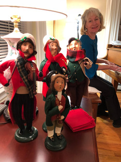 Piano Party with Carolers Plymouth