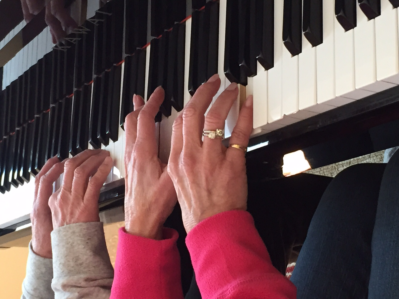 Duet Hands, Piano Keyboard