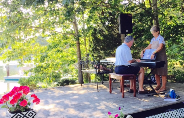 June 2016 Piano Party Popponesset Cape Cod