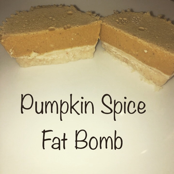 Pumpkin Pie Fat Bomb
