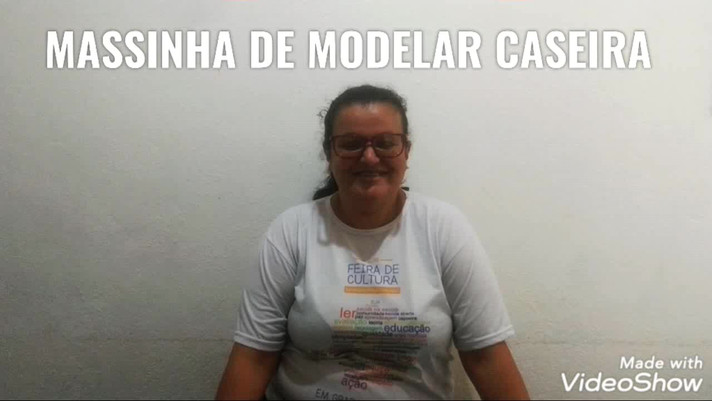 MASSINHA DE MODELAR CASEIRA