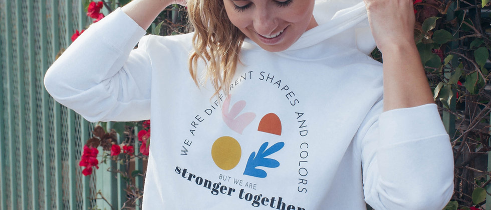Stronger Together Sweatshirt (cropped + reg options)